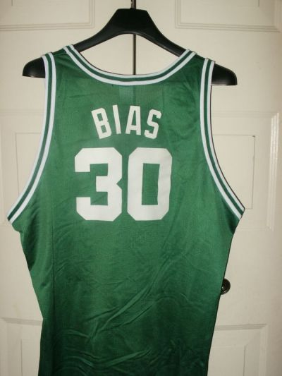 sports shoes 15fbb 3a035 len bias boston celtics jersey